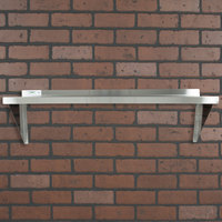 Regency 16 Gauge Stainless Steel 18 inch x 48 inch Heavy Duty Wall Shelf