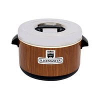 Town 56912W 64 Cup Sushi Rice Container with Woodgrain Finish