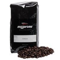 Ellis Mezzaroma 12 oz. Dark Regular Whole Bean Espresso - 6/Case