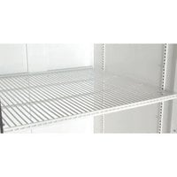 True 868290-038 White Coated Wire Shelf - 24 1/4 inch x 22 1/8 inch
