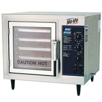 NU-VU XO-1M Half Size Electric Countertop Convection Oven - 208V, 1 Phase, 4 kW