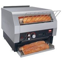Hatco TQ-1800BA Toast Qwik One Side Conveyor Toaster - 2 inch Opening, 240V