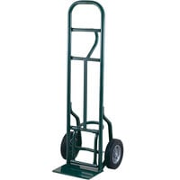 Harper 5814 Loop Handle 800 lb. Tall Steel Eze Off Hand Truck with 8 inch x 2 1/4 inch Solid Rubber Wheels