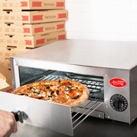 Avantco CPO-12 Stainless Steel Countertop Pizza / Snack Oven - 120V, 1450W