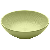 Elite Global Solutions M10R325T Sunburst Weeping Willow Green 2.5 Qt. Melamine Bowl