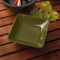 Elite Global Solutions M10SQ Belize Lizard 2.25 Qt. Square Melamine Bowl