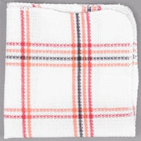 Chef Revival 13 inch x 14 inch Striped Waffle-Weave 100% Cotton Dish Cloth - 12/Pack