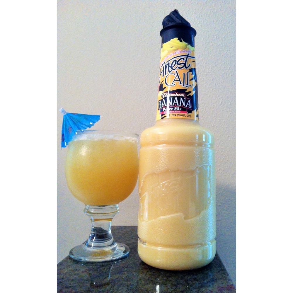 Finest Call Premium Banana Puree Drink Mix 1 Liter