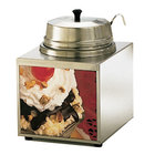 Star 3WLA-W 3.5 Qt. Lighted Food Warmer with Ladle