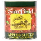 Sliced Apples in Water #10 Cans 6 / Case