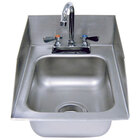 Advance Tabco DI-1-5SP Drop In Stainless Steel Sink with Side Splash 5