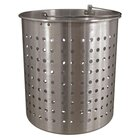 Vollrath 68293 Wear-Ever Replacement Boiler / Fryer Basket for 68273 - 15 1/2