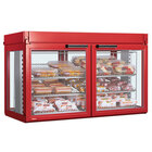 Hatco LFST-48-1X Flav-R-Savor Two Door Large Capacity Merchandising Cabinet - 2150W