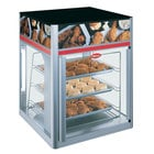 Hatco FSD-2 Flav-R-Savor Two Door Holding and Display Cabinet with Three Tier Circle Rack and Motor