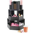 Cal-Mil 1719 Classic Black Revolving Condiment Display - 14