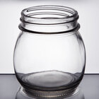 American Metalcraft MJ85 8.5 oz. Condiment Mason Jar - 6/Pack