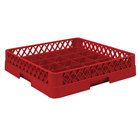 Vollrath TR16BBB Traex Full-Size Red 25-Compartment 7 7/8