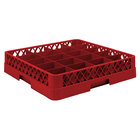 Vollrath TR5AA Traex Full-Size Red 20-Compartment 6 3/8