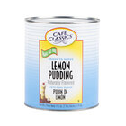 Cafe Classics Trans Fat Free Lemon Pudding #10 Can - 6 / Case
