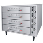 Hatco HDW-2R2 Freestanding Split Four Drawer Warmer - 1290W