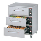 Hatco HDW-3 Freestanding Three Drawer Warmer - 1350W