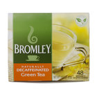 Bromley Hot Green Decaffeinated Tea Bags - 48 / Box