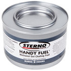 Sterno Products 20102 Handy Fuel Methanol Gel Chafing Fuel - 2 Hour - 72 / Case