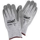 Salt and Pepper High Performance Cut Resistant Glove with Polyurethane Palm Coating - Large - 1 Pair