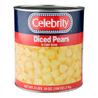 Diced Pears in Light Syrup 6 - #10 Cans / Case