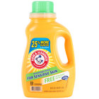 Arm & Hammer 50 oz. 2X HE Perfume & Dye Free Liquid Laundry Detergent - 8 / Case
