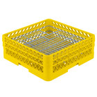 Vollrath PM4806-2 Traex Yellow 48 Compartment Plate Rack - 5