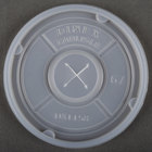 Dinex DXTT58 Translucent Disposable Lid with Straw Slot for Tumblers - 1000/Case