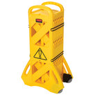 Rubbermaid FG9S1100YEL Yellow Wet Floor Barrier