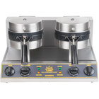 Carnival King WBM26 Double Belgian Waffle Maker with Timers - 120V