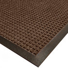Cactus Mat 1425M-B35 Water Well I 3' x 5' Classic Carpet Mat - Walnut