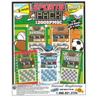 Sports Punch Board Game of Chance