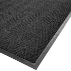 cactus mat 1487m l36 chevron rib herringbone 3 39 x 6 39 charcoal scraper mat 3 8 thick. Black Bedroom Furniture Sets. Home Design Ideas