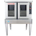 Blodgett ZEPHAIRE-100-E Single Deck Full Size Standard Depth Electric Convection Oven - 11kW