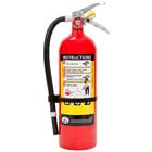 Badger Advantage ADV-550 5 lb. Dry Chemical ABC Fire Extinguisher with Vehicle Bracket - Untagged and Rechargeable - UL Rating 3-A:40-B:C