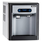 Follett 7CI100A-IW-NF-ST-00 7 Series Air Cooled Countertop Ice Maker and Water Dispenser with 7 lb. Storage Capacity - 115V