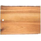 Tablecraft ACAR1409 Acacia Wood Rectangular Serving Board - 14