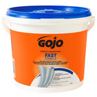 GOJO® 6298-04 Fast Towels Hand Cleaning Wipes 130 Count Bucket - 4 / Case