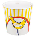 Choice 10 lb. Chicken Bucket with Lid - 120/Case