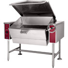 Blodgett BLT-30G 30 Gallon Manual Tilt Gas Braising Pan / Tilt Skillet - 80,000 BTU
