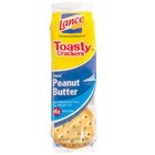 Lance Toasty Peanut Butter Sandwich Crackers 20 Count Box - 6 / Case