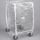 Curtron SUPRO-14-EC-1/2 Protecto Clear Half Size Bun Pan Rack Cover - 14 Mil