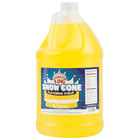 Carnival King 1 Gallon Banana Snow Cone Syrup - 4 / Case