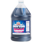 Carnival King 1 Gallon Bubble Gum Snow Cone Syrup - 4 / Case