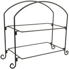 American Metalcraft IS12 Two-Tier Rectangular Display Stand