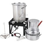 Backyard Pro 30 Qt. Deluxe Aluminum Turkey Fryer Kit / Steamer Kit